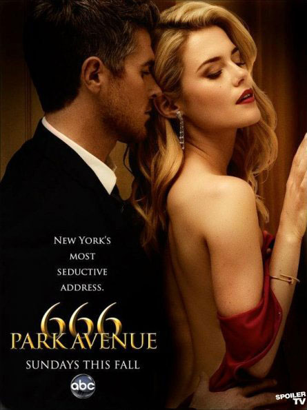666promo3 - New Promo Posters for 666 Park Avenue Are Heavy on Sex but Light on Scares