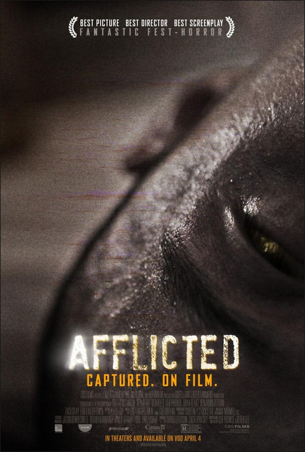 afflicted alt ppster - New Afflicted Poster Gets Really Close