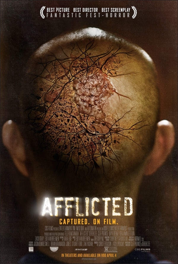 afflicted poster - New Afflicted Poster Gets Really Close