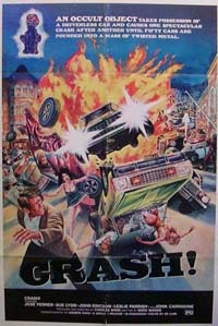 crashpostersmall - From Here to Obscurity: Crash! (1977)