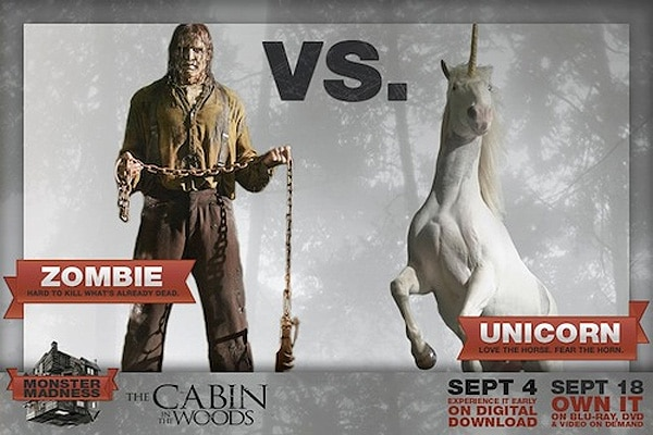cw1 - It's Monster Madness on The Cabin in the Woods Facebook Page!