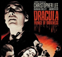 dracula prince of darkness s - Dracula: Prince of Darkness Heads to Blu-ray Stateside