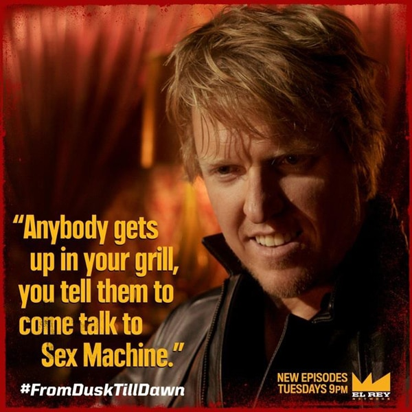 fdtdsexmachine - Jake Busey Talks From Dusk Till Dawn, How Mayan Gods & Robert Rodriguez Saved Him, Snake People, and More