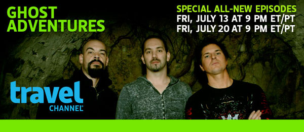 galondon - Clips from the July 13th Episode of Ghost Adventures - London's Hellfire Caves