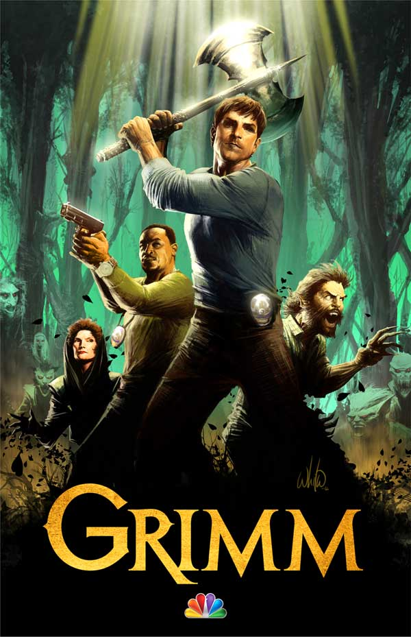 grimartcc - San Diego Comic-Con 2012: A Look at the Grimm Experience