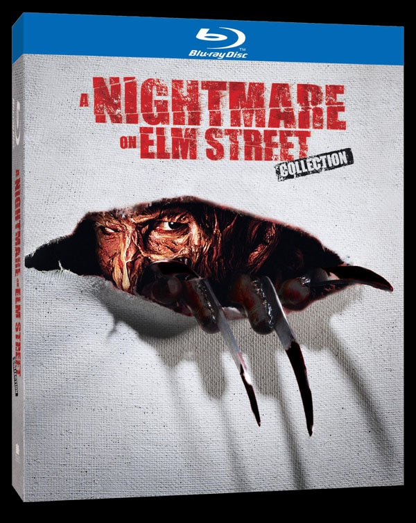 nightmare on elm street blu ray box - The Nightmare on Elm Street Collection: Nightmarish Memories Part 2