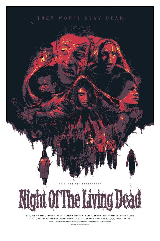 notld - Horror History: Feast Your Eyes on the Invite for the Premiere of the Original Night of the Living Dead