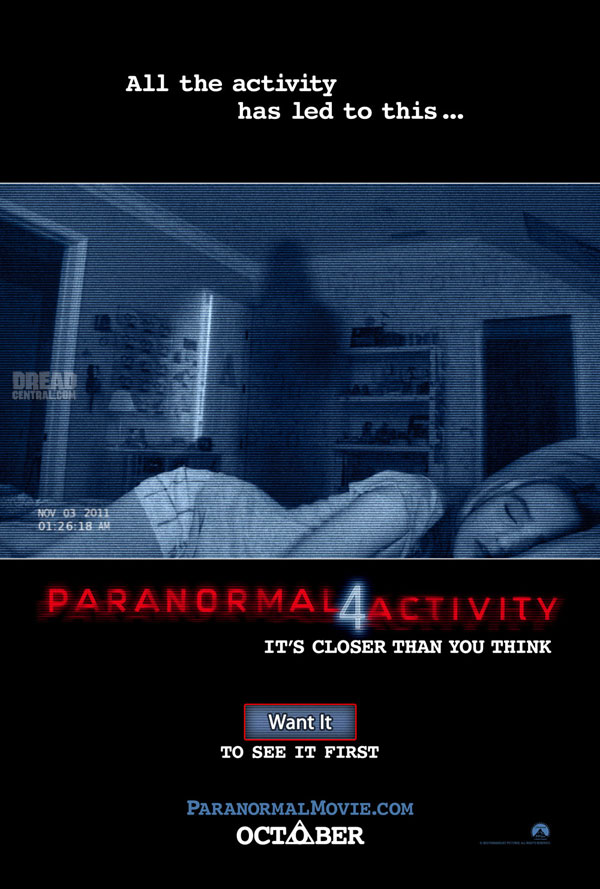 pa4oss - New Paranormal Activity 4 Image Stares Back at You