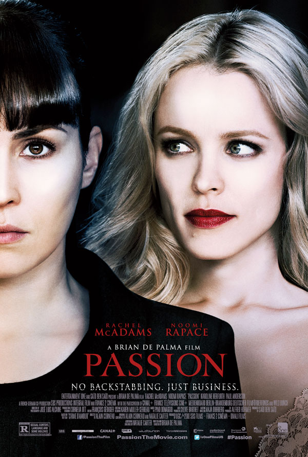 passionusposter - Check Out the First 5 Minutes of Brian De Palma's Passion