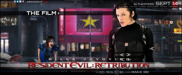 rerweb1 - Are Those Actual Zombies on the Resident Evil: Retribution Website?