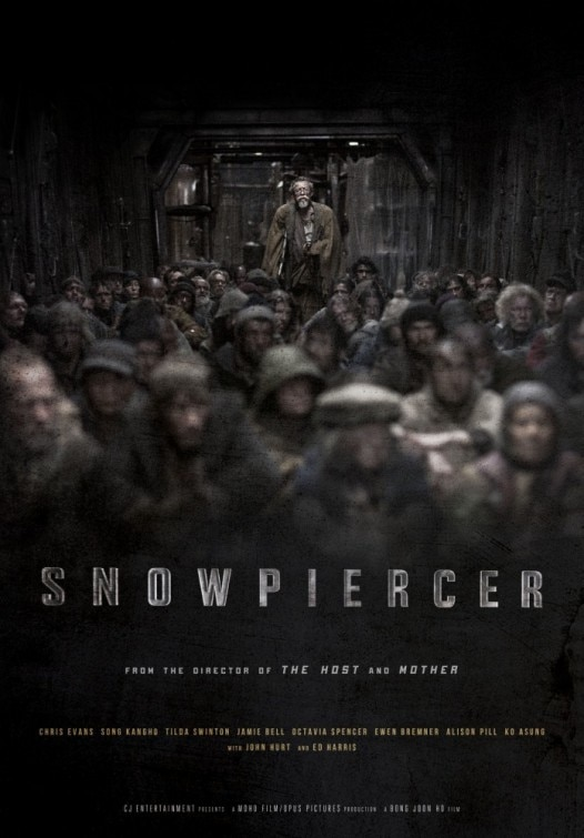 snowpiercer poster - Chris Evans Fights His Way to Front of New Snowpiercer Poster