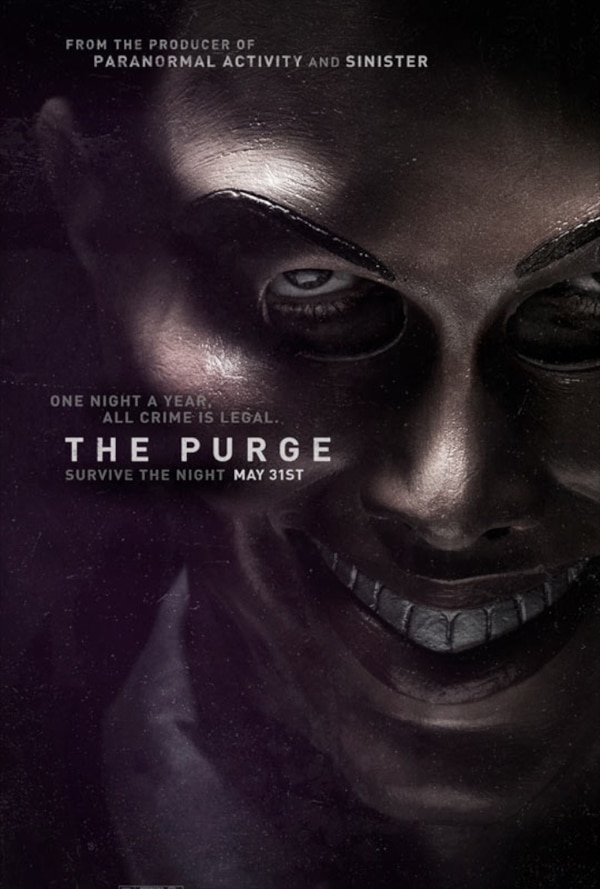 the purge poster - First Look at The Purge - Trailer, Stills, and Artwork!