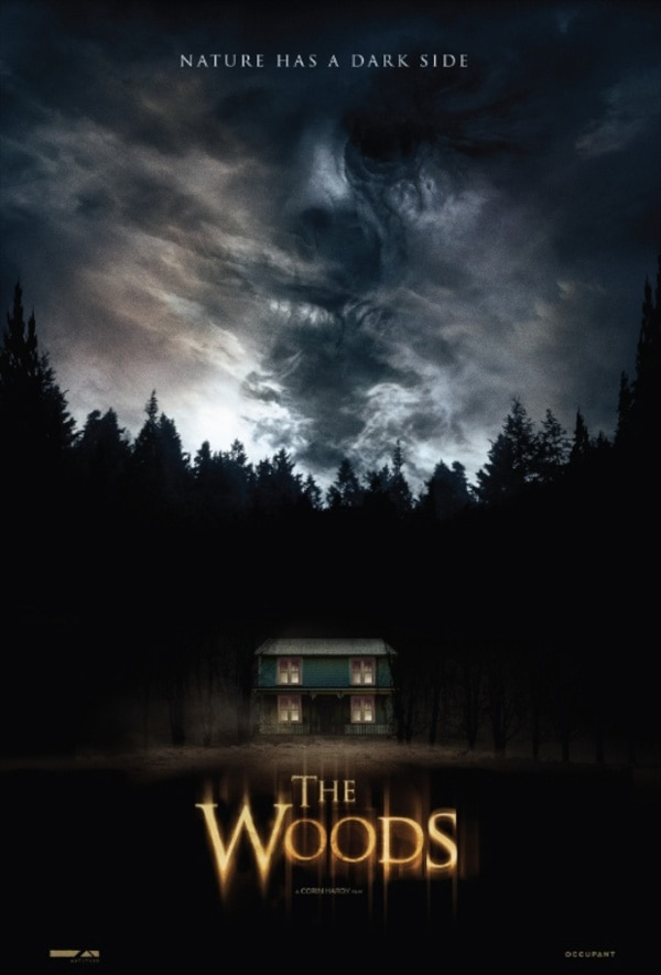 the woods - Poster for Irish Horror Flick The Woods Shows Nature's Dark Side