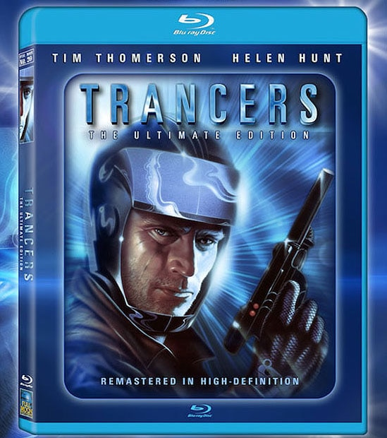 trancers blu ray - Trancers Now Available on Blu-ray from Full Moon; Release Party at Dark Delicacies July 19