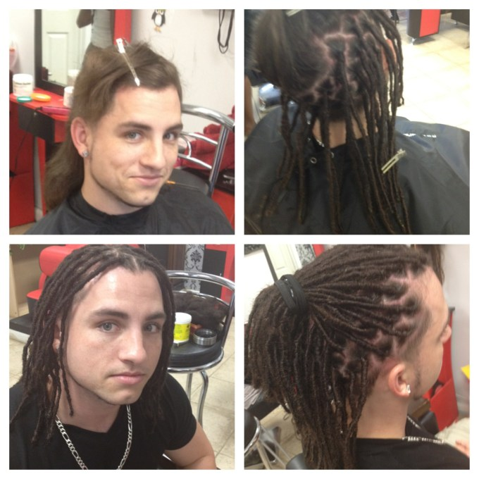 Dread extensions on very short hair hairsstyles starting dreads on short hair dread repairs braids by bee at the braiding depot inc pmusecretfo Image collections