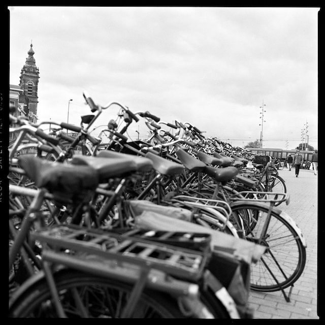 Bicycles at the station