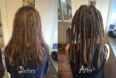 New Dreads Added To a Collection Of Natural Dreads