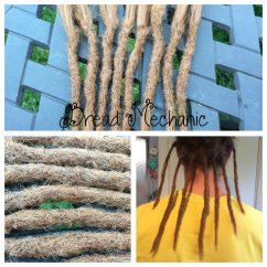 Permanent Synthetic Dread Extender Install (2)