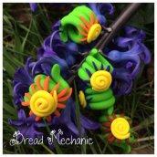 Swirly Sunshine Beads