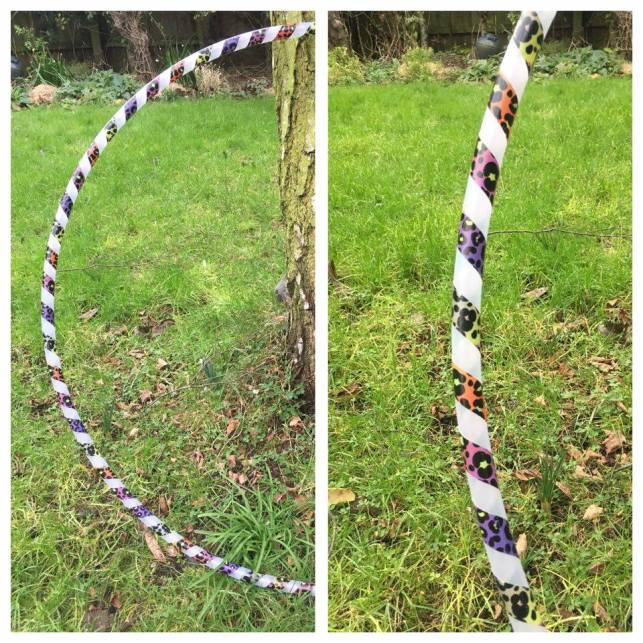 twisted grip taqqpe poly pro hula hoop - £22.50 + p&p