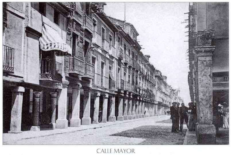 Calle Mayor de Alcalá de Henares - 1910