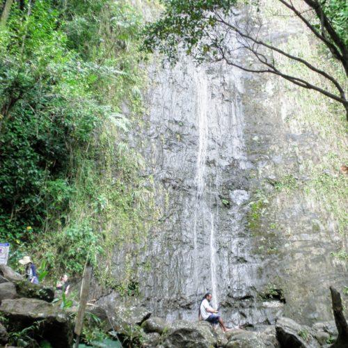 マノアの滝 枯れる 水がない