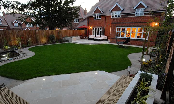 Early, Modern Patio - Dream Gardens on Dream Backyard Ideas id=40971