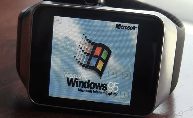 Windows-95-on-Android-Wear-device
