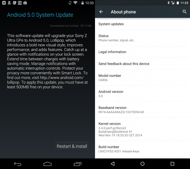 Sony-Z-Ultra-Android-Lollipop