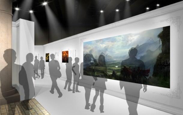 ロト伝説の画廊(公式サイトから)