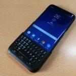 Galaxy S8+のキーボードカバーをレビュー。わかってはいたけど、日本語入力は不可