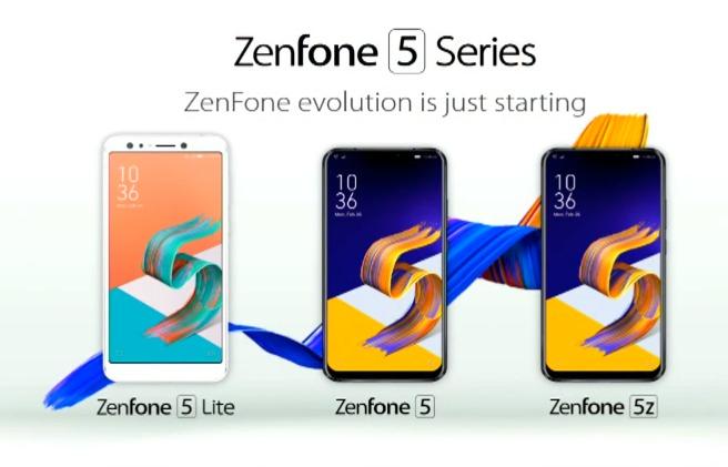 ZenFone 5 Seiries