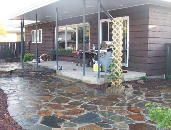 introduction flagstone patio