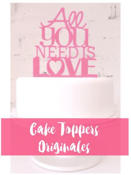 portada cake toppers