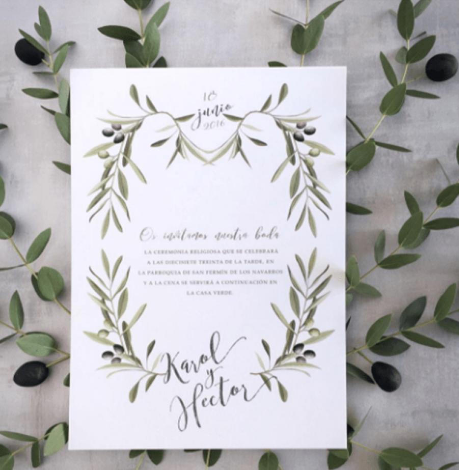 invitacion-boda-acuarela-hojas