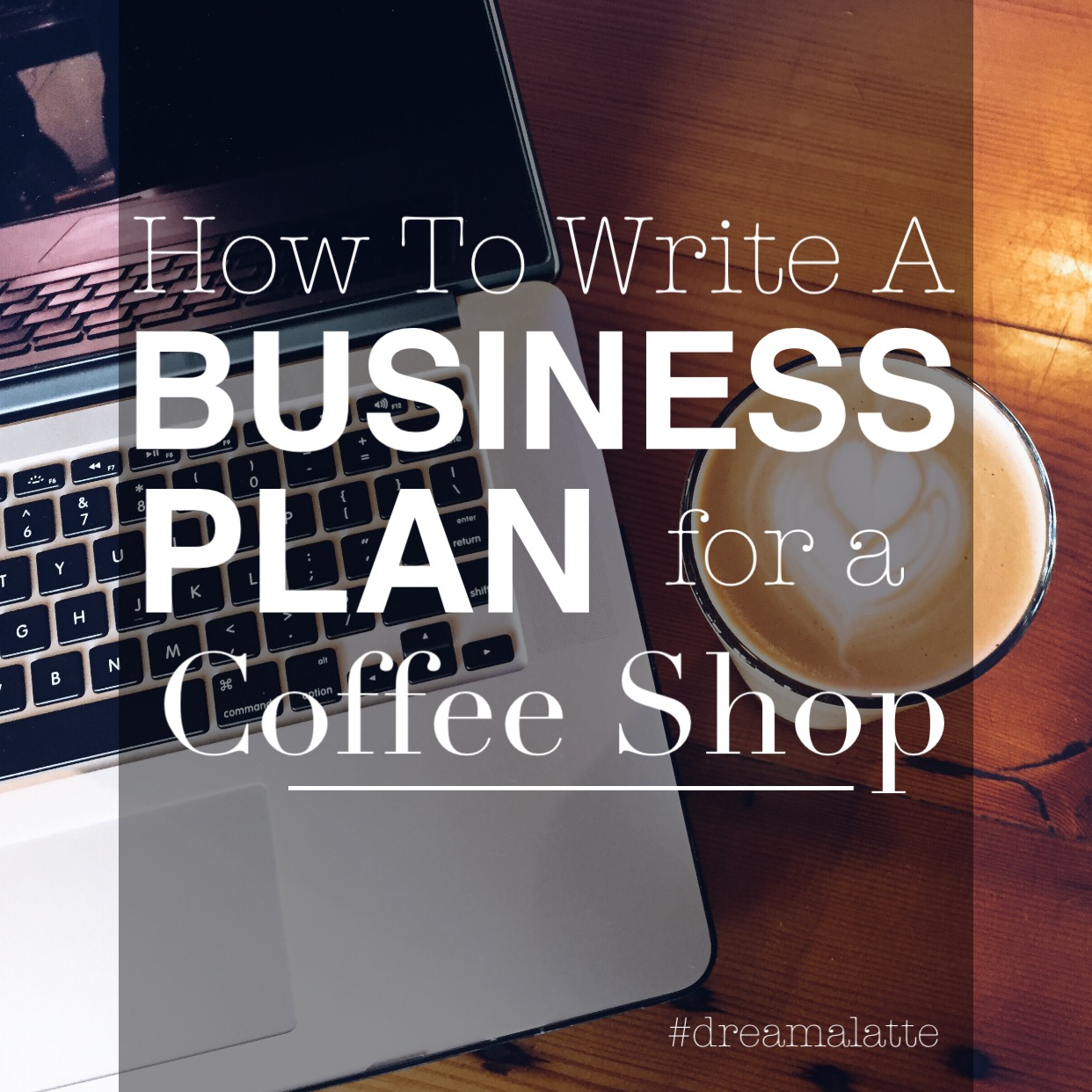 how to make business plan for coffee shop