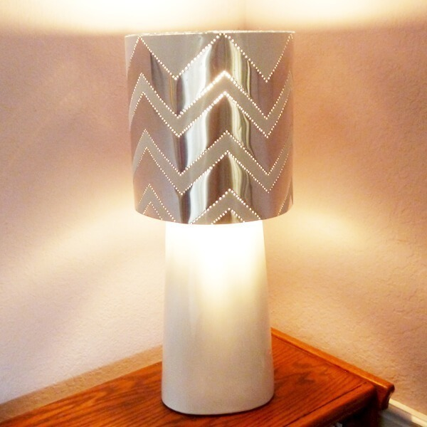 Modern Tin Punch Lampshade Dream A Little Bigger