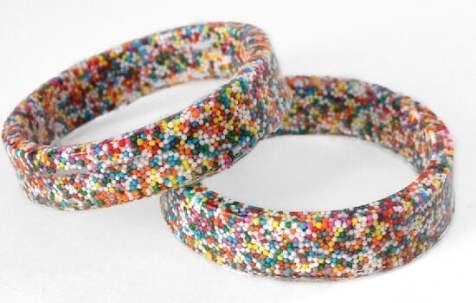 How to make sprinkles bangles - Dream a Little Bigger