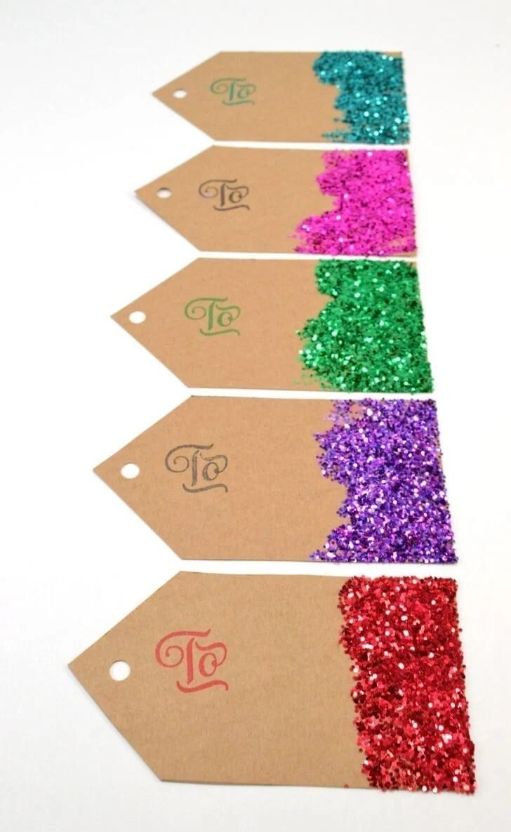From Scratch Glitter Gift Tags Dream A Little Bigger