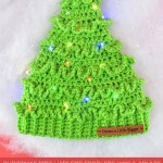 Crochet Christmas Tree Hats Free Pattern Dream A Little Bigger