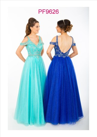 PF9626 Aqua and Royal Blue