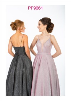 PF9661 Charcoal and Pink