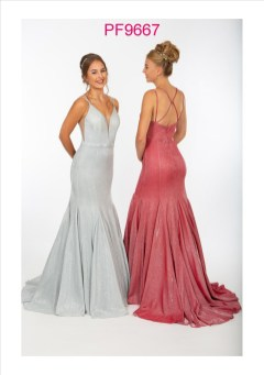 PF9667 Silver and Raspberry