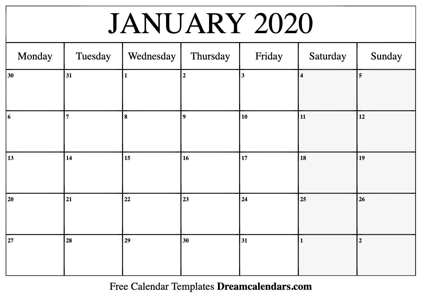 Dream Calendars