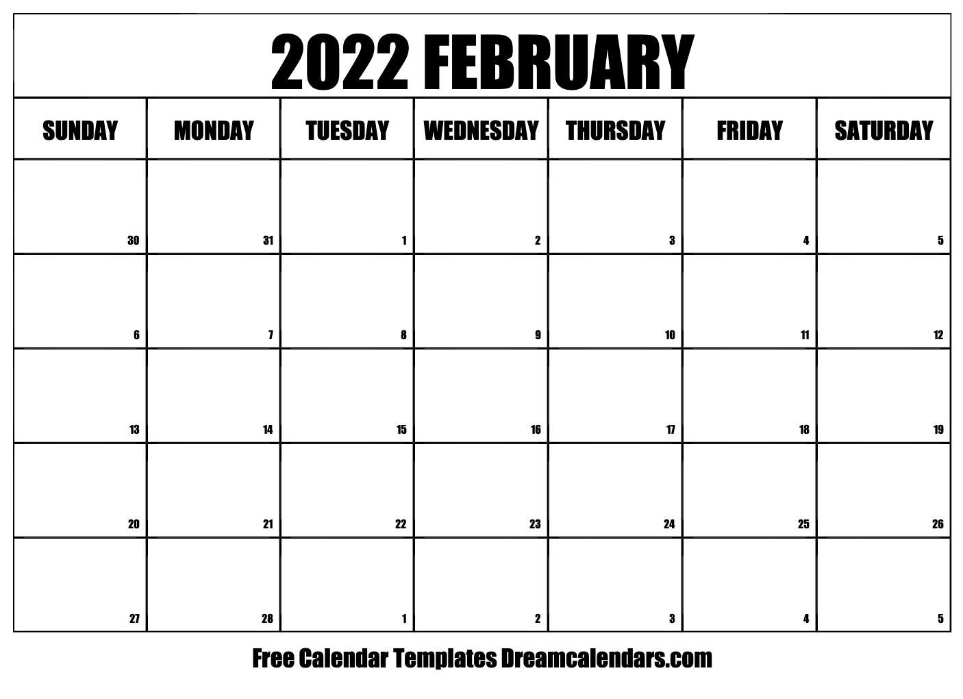 Remembering bill due dates is easy with a system for noting what needs to be paid and whether you've done with these free printable bill calendars. February 2022 calendar   free blank printable templates