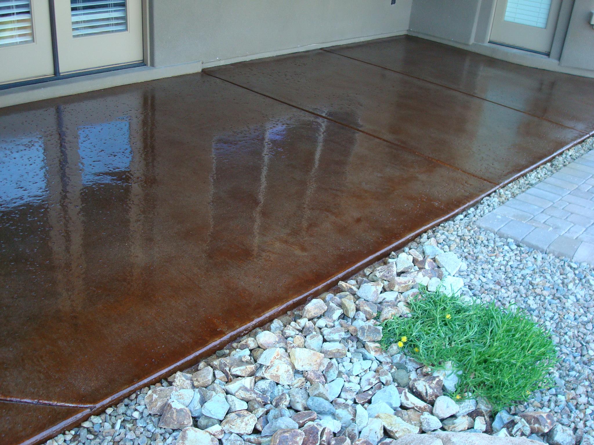 outdoor patio epoxy vs