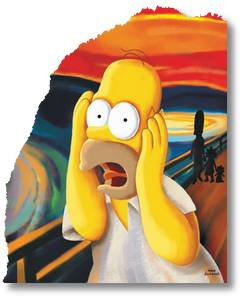 homer,scream
