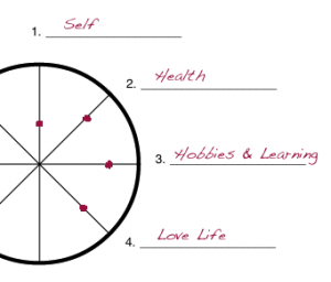 Sample Wheel of Life exercise