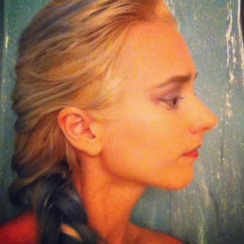 An Elsa selfie