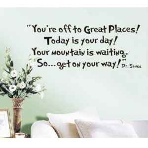 100 Gifts for Writers - Seuss Quote